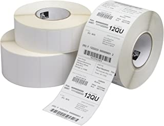 """Zebra Technologies 10010043 Z-Select 4000D Direct Thermal Label, 3"""" x 1"""", 1"""" Core, 5"""" OD, 2340/Roll (Pack of 6)"""