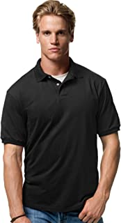 Hanes Adult ComfortBlend EcoSmart Polo Jersey Shirt
