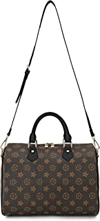 Lady's Moment Women Purse Leather Cross Body Shoulder Bags with Adjustable Strap