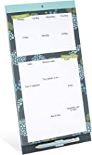 Boxclever Press Meal Planner & Shopping List Magnetic pad. Grocery List Magnet Pad for Fridge & weekly/daily planner for meals. Money saver planner with clip-on pencil & coupon pocket. 11.8'' x 6''