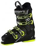 TECNOPRO Herren Ski-Stiefel Pulse 70 Skistiefel, schwarz/Gelb, 30