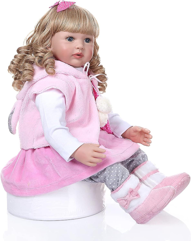 YANRU Regular discount Newborn Baby Reborn Doll - Silicone 24inch Industry No. 1 Silicon