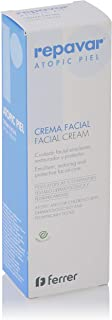 Repavar Atopic Piel - Crema Facial Cuidado para el Rostro Emoliente Restaurador y Protector para Pieles Atópicas yo In...
