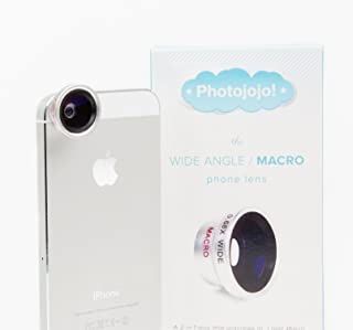 Photojojo Wide Angle/Macro Lens for Apple iPhone 5 5s 5c 6 6 Plus and Android