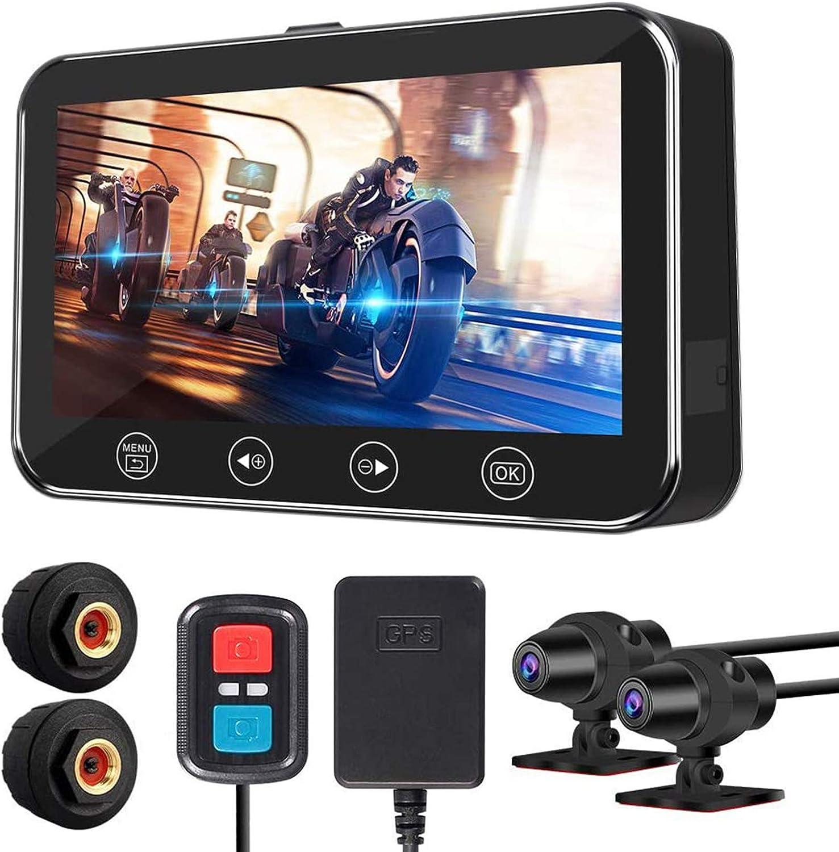 ALLWIN Long Beach Mall Popular Motorcycle Drive 4.5'' Camera Recorder