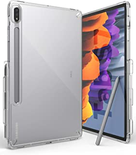 Ringke Fusion Case Designed for Galaxy Tab S7 (2020) Built-in Stylus S Pen Holder - Clear Transparent