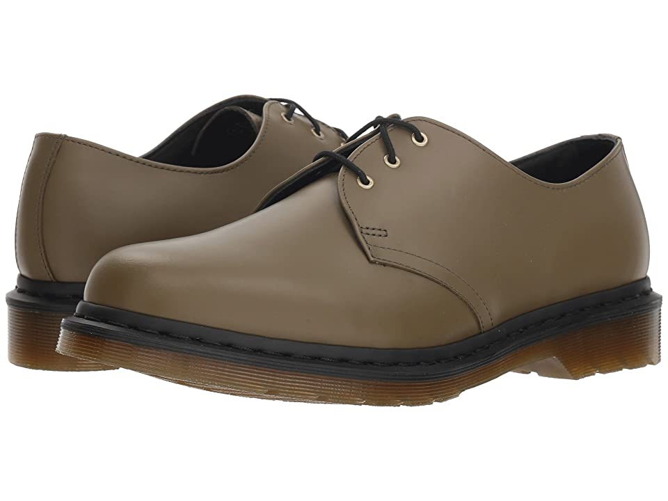 Dr. Martens 1461 Core (DMS Olive Smooth) Shoes