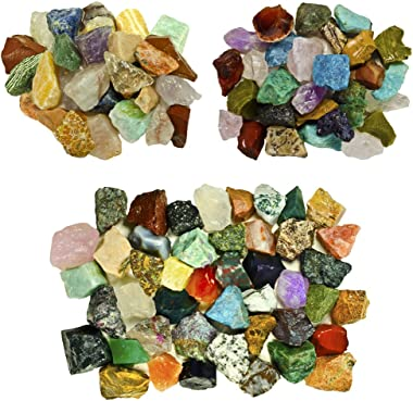 Fantasia Materials: 6 lbs Premium World Stone Mix (Largest Variety on Amazon) from Asia, Brazil and Madagascar!