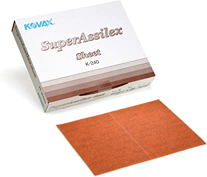 Manual Sanding Products Sanding Sheets 191-2517 25 Sheets Super ...