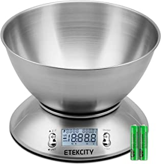 Etekcity Digital Kitchen Food Multifunction Removable Bowl 2.15L Liquid Volume Room..