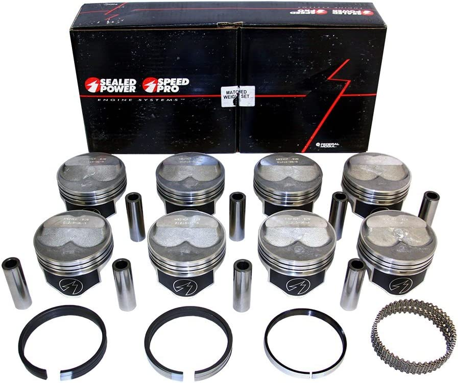 Speed Max 51% OFF Pro H635CP40 Chevy Max 47% OFF 383 .200 Dome Rod Moly Pistons Ri 5.7 +