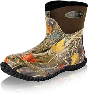 Dirt Boot® Neoprene Wellington Muck Field Boots Garden Wellies Stable Yard Ankle Bootie