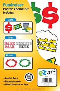 Headline Sign 6109 EZ Art Fundraiser Theme Kit for Create-Your-Own Posters