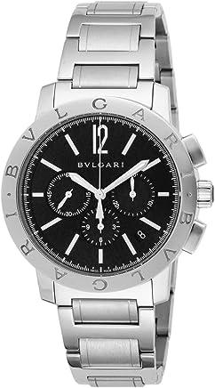 [ブルガリ]BVLGARI 腕時計 ブルガリブルガリ ブラック文字盤 自動巻 クロノグラフ BB41BSSDCH メンズ 【並行輸入品】