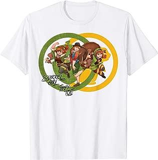 Rising Secret Warriors Squirrel Girl Symbol Collage T-Shirt