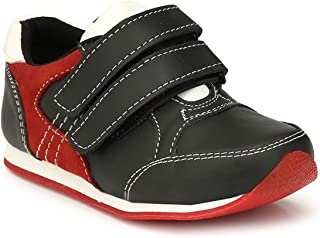 Tuskey Genuine Leather Comfortable Breathable Antiskid Jogger Boot Shoes for Kids & Boys