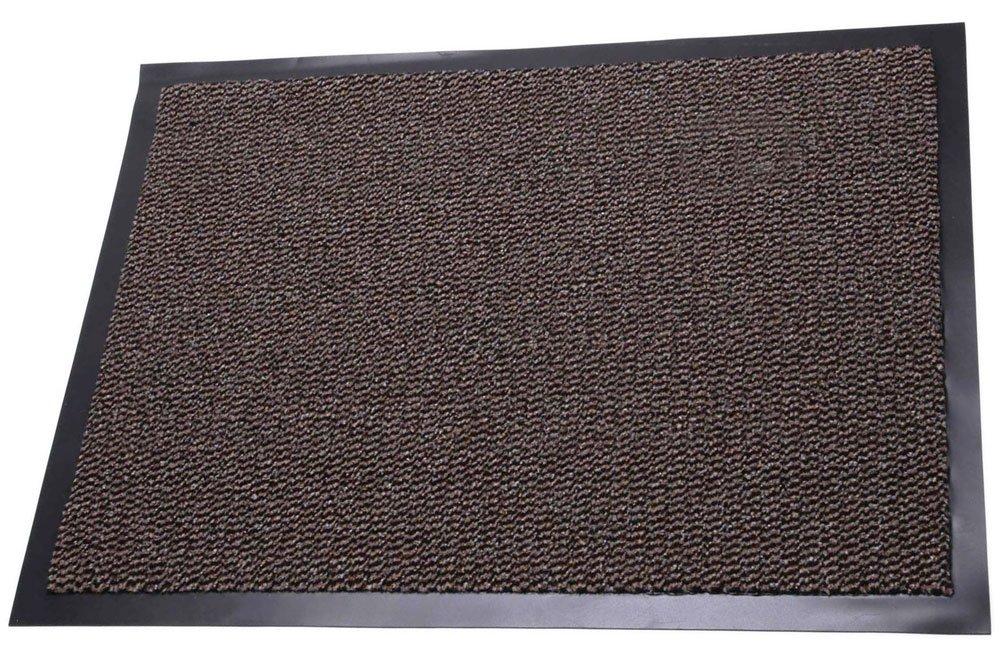 40 X 60 CMS TrendMakers DIRT TRAPPER BROWN//BLACK HEAVY DUTY STRONG NON SLIP HEAVY DUTY RUG BARRIER MAT DOOR OFFICE KITCHEN UTILITY CARPET
