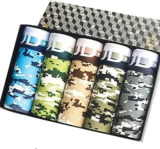 SUNIU ボクサーパンツ メンズ下着 セット 通気 吸汗 コットン ボクサーショーツ 若いセクシー スクエアショーツ 5枚組