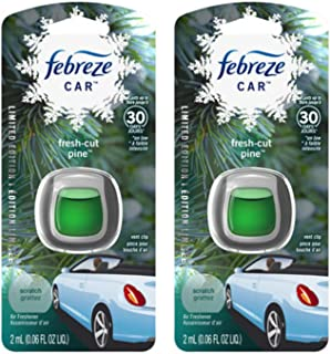 Febreze Car Vent Clip Air Freshener - Fresh-Cut Pine - Holiday Collection 2017 -