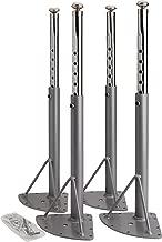 Best adjustable height table legs Reviews