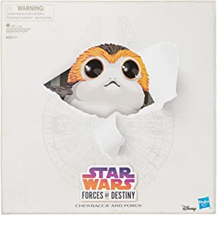 SDCC 2018 San Diego Comic Con Star Wars Forces of Destiny Chewbacca and Porgs