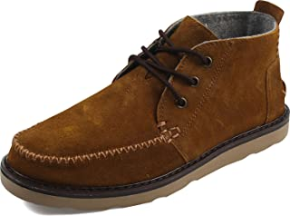 195d44e21eb TOMS Men s Chukka Boot Chestnut Oiled Suede 10 ...