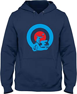 2c96f6eb Speed Shirt Sudadera con Capucha para Hombre Azul Navy OLDENG00344 Mods  Vespa