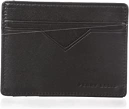 Perry Ellis Men's Portfolio Card Holder with A Sliver Tone Logo
