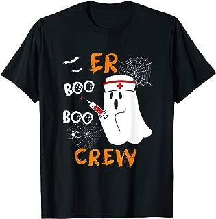 Er Nurse Boo Boo Crew Halloween Gift T-Shirt