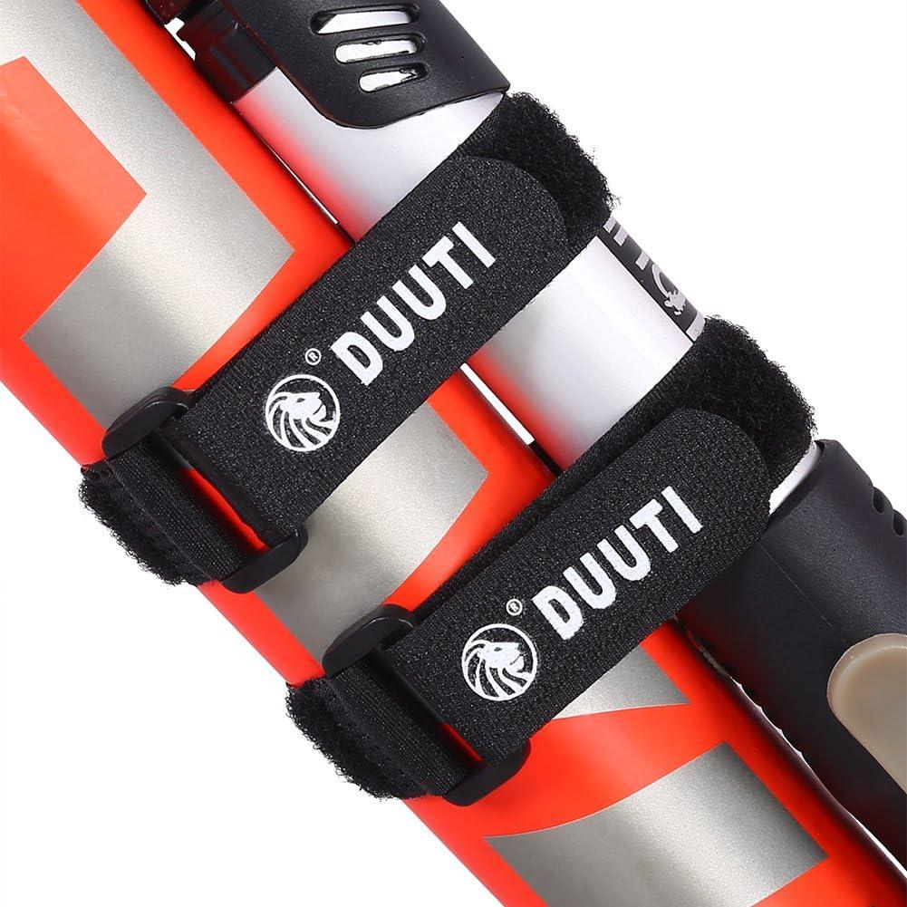 Courroies r/églables de Bicyclette d/équitation de Sports durables d/équitation en Nylon Chaudes Qiilu Cravate de Guidon de Bicyclette 5pcs//Set DUUTI