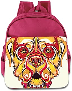 Logon 8 Awesome Dog Cute Baby Boys Girls Tollder School Hiking Backpacks Bags RoyalBlue