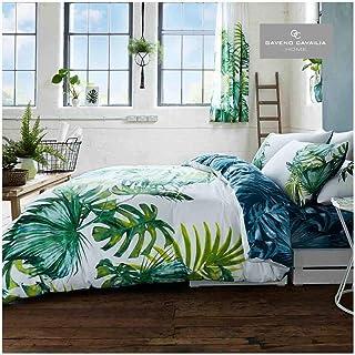color smeraldo Asha letto king size colore verde//foglia di t/è Set Copripiumino Matrimoniale e 2;federe design indiano set biancheria da letto