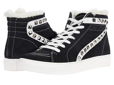 Steve Madden Tracey-F Sneaker (Black Suede) Women