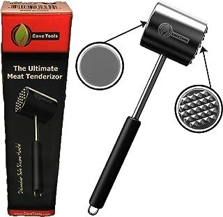 Meat Tenderizer Mallet Tool - DISHWASHER SAFE - Manual Hammer Pounder For Tenderizing Chicken Steak Pork & Veal in Kitchen...