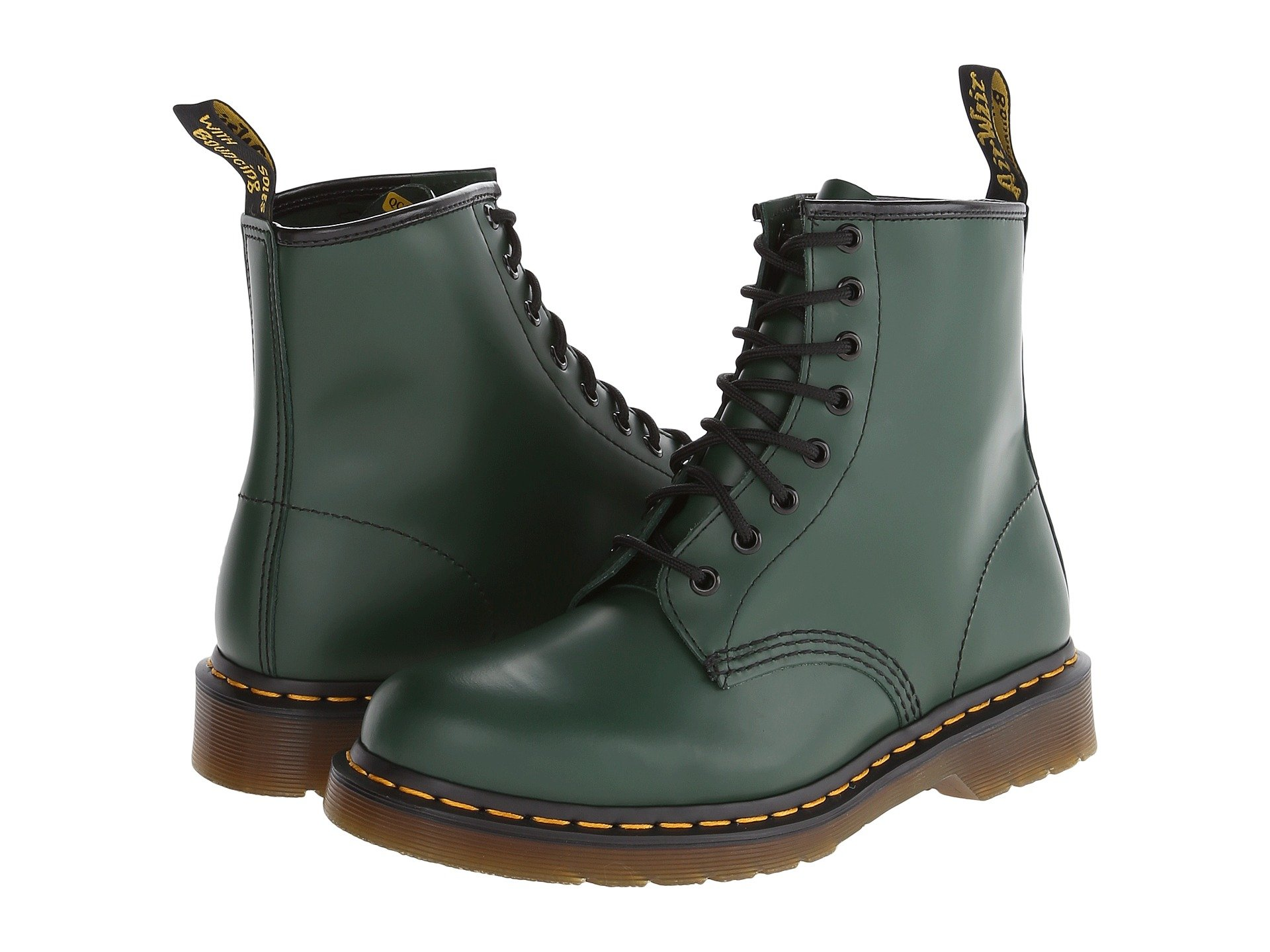 DR. MARTENS 1460, GREEN SMOOTH