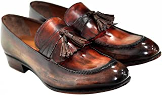 [Oscar William] Clark Men's Luxury Classic Handmade Leather Shoes