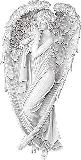 3D decorazione da parete decorazione da parete WANGQI Statua di angelo in gel dangelo