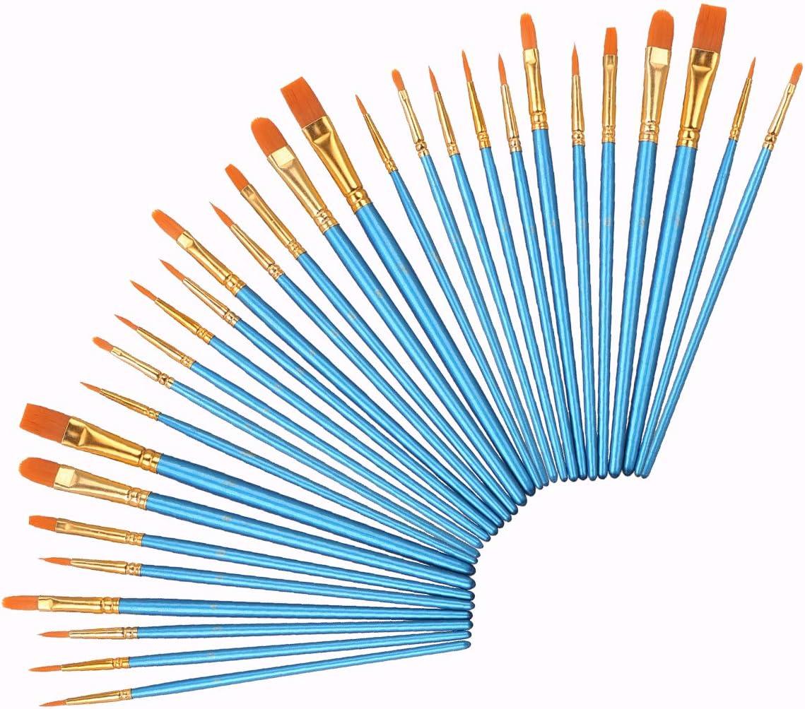 Elisel Now on Luxury goods sale Paint Brush Set Brushe Oil Watercolor