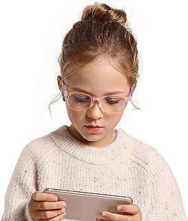 Blauw licht blokkerende bril voor kinderen, glasses blauwlichtfilter Computerbril voor het blokkeren van UV, kinderbril Ga...