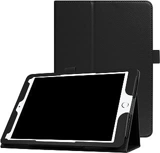 New iPad 9.7 Inch 2018/2017 / iPad Air 2 / iPad Air Case - [Corner Protection] Premium PU Leather Folio Smart Cover w/Auto Sleep/Wake for iPad 9.7 in 2017 Release, iPad Air 1 2(Black)