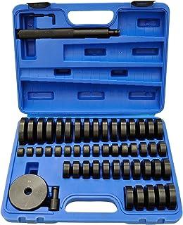 Tryckstycke drivset lager skålar 52 st. Monteringsskruvar bussning tätning, 52 st. Tryckstycke pressverktyg