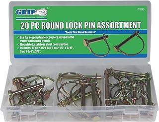 Grip Lynch Pin Assortments (20 pc Round Lock Pin)