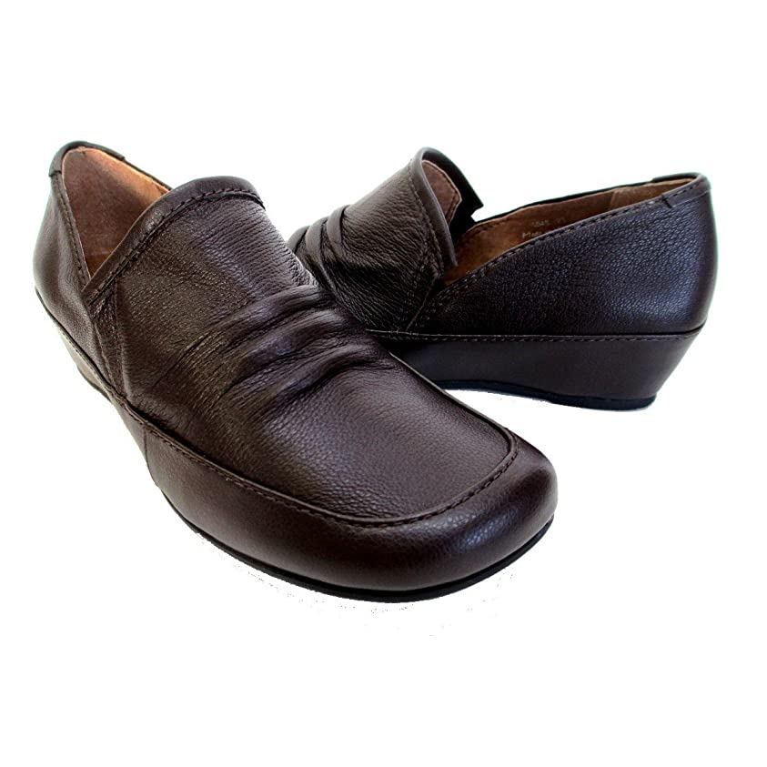 七時半フルーティーファランクス[イング] 1045 レディース カジュアルシューズ フラットヒール スクウェアトゥ 通勤靴 仕事靴
