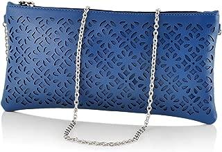 Butterflies Women's Wallet (Blue) (BNS 2377BL)