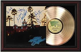 Eagles - Hotel California Emerging Sleeve Framed Signature Display M4
