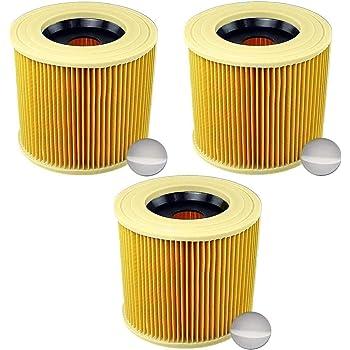 Patronen-Filter für KARCHER MV 3 PREMIUM 1.629-841.0 10 Staubsaugerbeutel