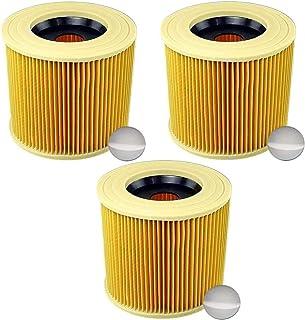 Wessper Cartouche filtrante pour aspirateur Aquavac Synchro 1400W Pour usage humide et sec