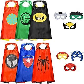 Visy Cool Costumes de Super Heros Garcons et Filles Jouets de Super-Heros pour Les Costumes d'anniversaire - Cadeaux pour ...
