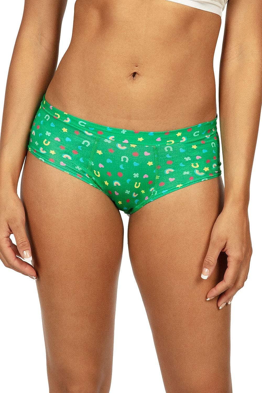Womens St Paddys Day Underwear