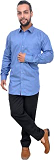 The Mods Men's Formal Dark Blue Color Shirt
